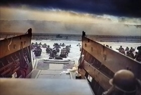 """Operation Overlord: """"Into the Jaws of Death,"""" Omaha Beach, June 6, 1944"""